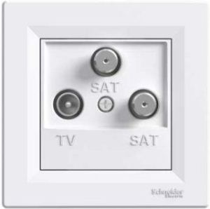 EPH3600121 ტელევიზორი,სატელიტის როზეტი2იანი(თეთრი)