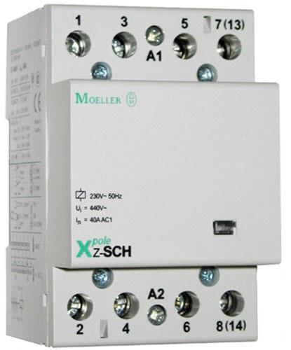 Трехполюсный контактор Moeller на 40 А Z-SCH