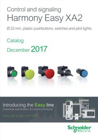 Новая бюджетная серия кнопок Easy XA2E от Schneider electric