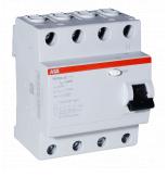 (2CSF204003R3250) Устройство защитного отключения  FH204 4P In-25 А. Un-400В. 300mA. Класс АС. ABB