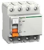 (11460) Устройство защитного отключения Домовой 4P In-25 А. Un-400В. 30mA. Класс АС. Schneider Electric