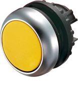 216929 M22-DL-Y. Невыступающая головка кнопки с подсветкой без фиксации. плоская. жёлтая IP67. серия RMQ-Titan. Moeller an Eaton Brand