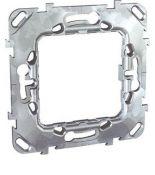MGU7.002 Суппорт для механизма Unica 2 модуля металлический