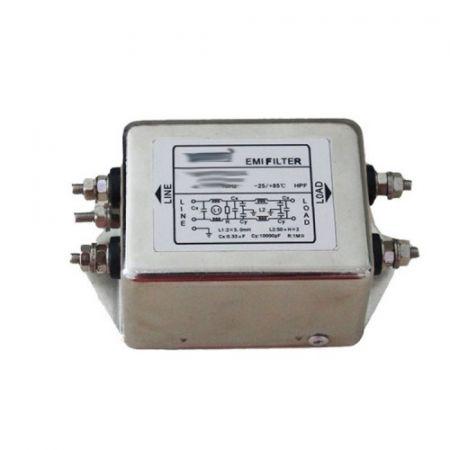 NFD-010 (NFD-010) Однофазный входной ЭМИ-фильтр P=1.5 кВт. Powtran Technology