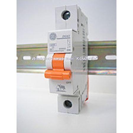 690555 Автоматический выключатель DG61 1P In=16 А Un=220-240В Кривая C 4.5 кА. General Electric