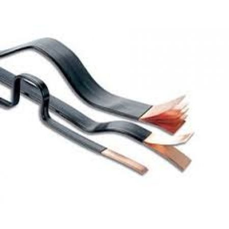 552510 Гибкая медная шина в изоляции 4х20х1 длинной 2 метра  402А ERIFLEX FLEXIBAR