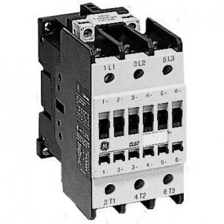(109700) Контактор CL09A300M1. Iном =95 A. 45 кВт. Uкат.=24 В ~ 50 Гц. General electric