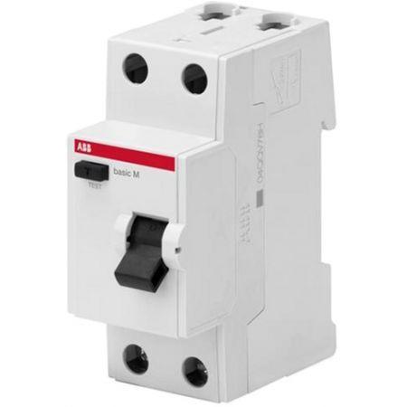 (2CSF602041R1250) Устройство защитного отключения  Basic M 2P In-25 А. Un-230В. 30mA. Класс АС. ABB