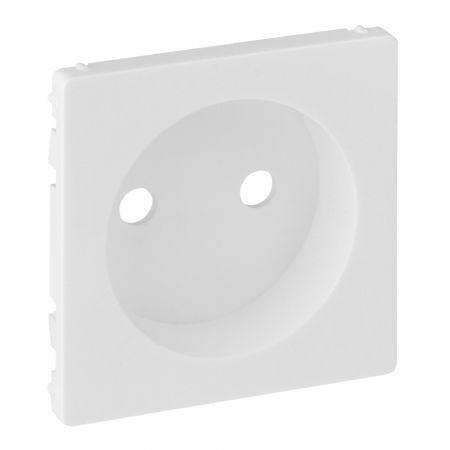 754970 Лицевая панель для розетки без заземляющего контакта Valena LIFE.белый.Legrand