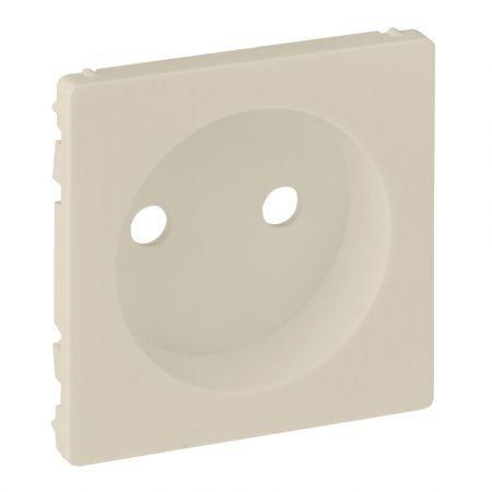 754971 Лицевая панель для розетки без заземляющего контакта Valena LIFE.слоновая кость.Legrand
