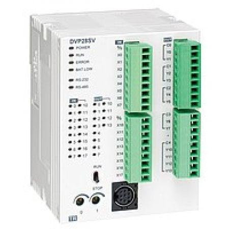 DVP14SS11R2 Процессорный модуль серии SS 14 точек ввода/вывода 24 DC Реллейные выходы OS version N.2