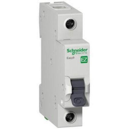 (EZ9F34116) Автоматический выключатель Easy 9 1P In=16 А Un=220-240В Кривая C 4.5 кА. Schneider Electric