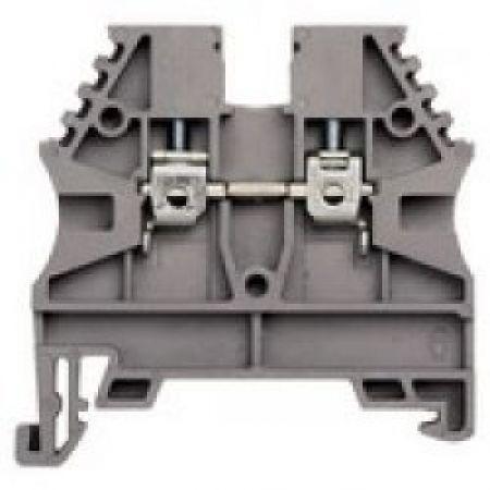 304120 Клемма для проводов винтовая на DIN-рейку 2.5 мм2 серая