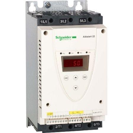 ATS22D17Q Устройство плавного пуска серии Altistart 22. Iн=17 A. мощность = 7.5 кВт. 380В. Schneider Electric