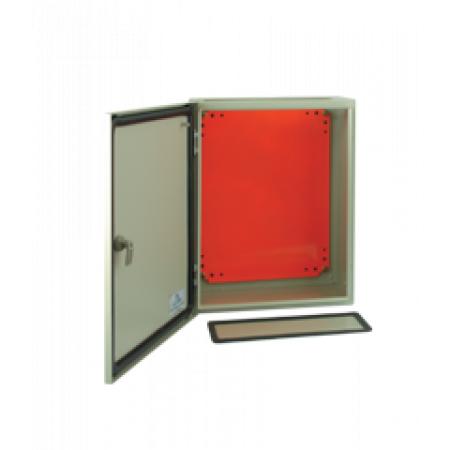 JXF400400200 Шкаф электротехнический 400х400х200. c монтажной панелью. IP54