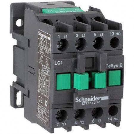 (LC1E0901M5) Контактор Tesys E. Iном=9 Aмпер. 4 кВт. 1NC. Uкатушки=220В ~ 50 Гц. Schneider Electric