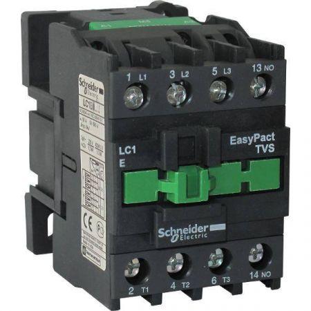 LC1E3810M5 Контактор Tesys E. Iном = 38 Aмпер. 18.5 кВт. 1NO. Uкатушки =220В ~ 50 Гц. Schneider Electric