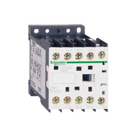 LC1K0610M7 Контактор Tesys K. Iном = 6 Aмпер. 2.2 кВт. 1 NO. Uкатушки =220 В ~ 50 Гц. Schneider Electric