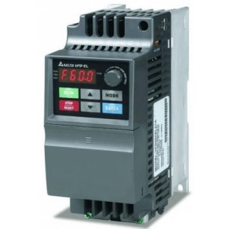 (VFD004EL21A) Преобразователь частоты VFD-EL 0.4кВт 220В. Delta