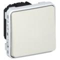 (069630) Механизм кнопочного выключателя Н.З. контакт IP55 Plexo белый. Legrand