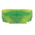 (446322) Торцевая крышка NPP YBK 2.5T желто-зеленая. Klemsan
