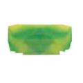 (446442) Торцевая крышка NPP PYK 1.5-2.5T желто-зеленая. Klemsan