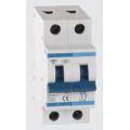 (6SM210C) Автоматический выключатель 6SM210C 2P. In=10А. Кривая С 6 кА. SIGMA