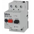 (MS25-10) MS25-10 Автоматический выключатель защиты двигателя In=6.3...10 A. Iskra