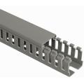 (ECS2525) Пластиковый короб перфорированный с крышкой 25x25. Elettrocanali (Италия). длинна 2м