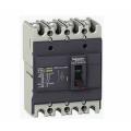 (EZC100N4075) Автоматический выключатель EZC100N. Iн=75 Ампер. 380В. 4 полюса. 15 кА. серии Easypact. Schneider Electric