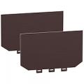 (LV429331) 2 изолирующих экрана для 4х полюсного Easypact CVS или Compact NSX 100-250. Schneider Electric