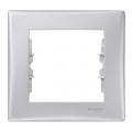 SDN5800160 Декоративная рамка одноместная Sedna алюминий