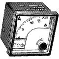 F48MMAXXXX05 Миллиамперметр 90°.  вход 0-5mA. шкала 0-300A