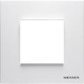 N2271.1 BL Рамка 1 местная базова Zenit белая