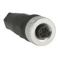 (XZCC12FDM40B) М12 прчмое соединение. IP67. Schneider electric